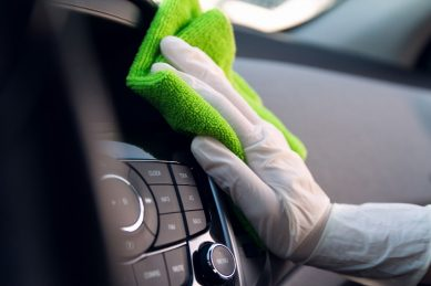 Tips on how to sanitise your car
