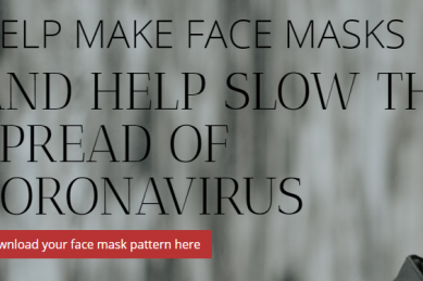 New local website aims to promote homemade masks to help flatten the curve