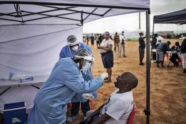 Gauteng to offer virus testing to at-risk groups as 1,661 cases confirmed