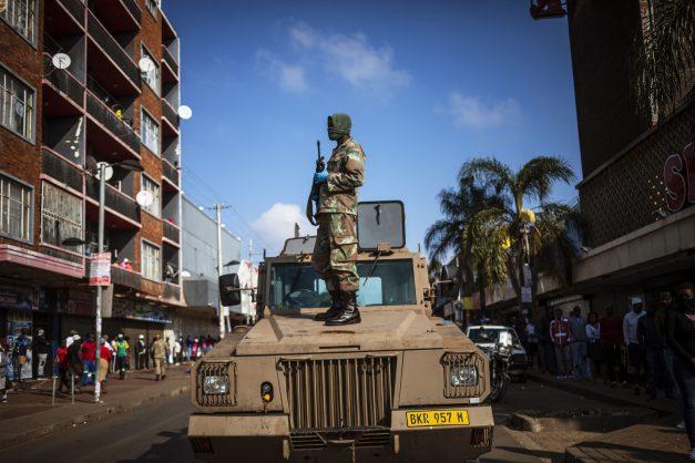 SANDF updates rules for soldiers enforcing lockdown