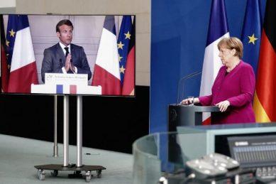 Macron, Merkel agree €500bn virus recovery plan for Europe