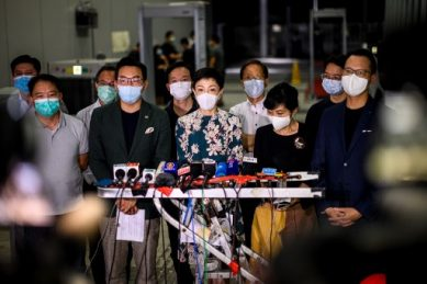 China parliament eyes Hong Kong national security law after unrest
