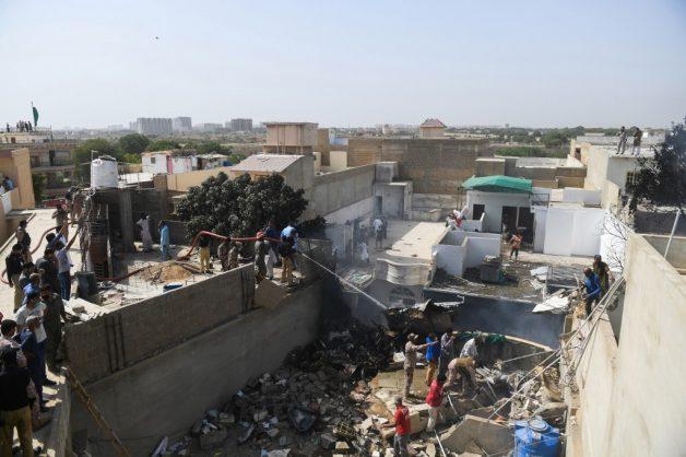 VIDEO: Pakistan passenger plane crashes in residential area