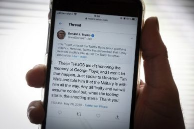 White House dares Twitter in war over Trump tweets
