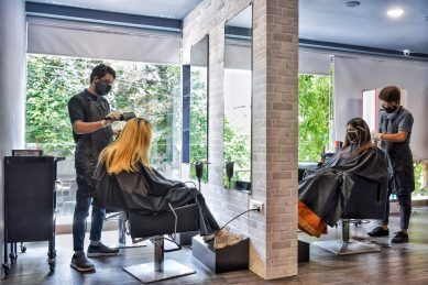 Haircuts, tattoos, and massages are finally allowed again