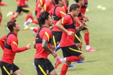 China's football team 'more united' under coronavirus