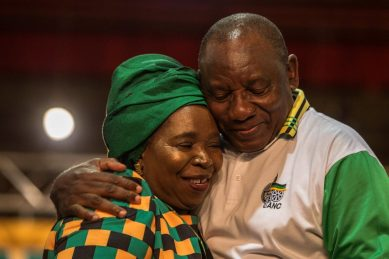 Yes to lady president, no to NDZ