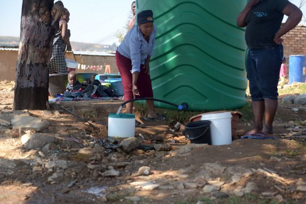 One in five informal settlement residents has no access to water – study