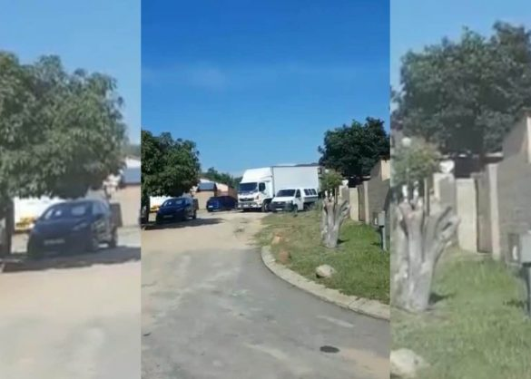 WATCH: Mpumalanga official accused of delivering food parcels to his house