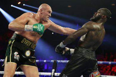 Fury's coach backs him to beat Joshua