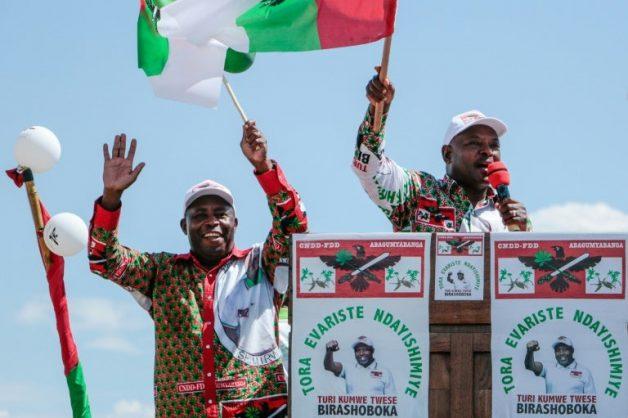 Burundians vote despite virus outbreak