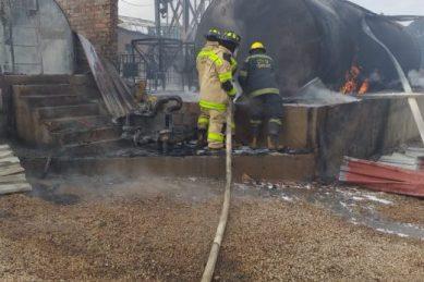 WATCH: Tshwane paraffin depot on fire