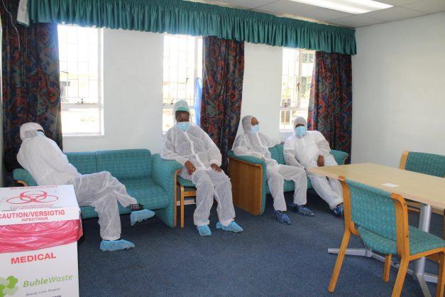 Inside a Gauteng quarantine site, including pics of the free Simba chips