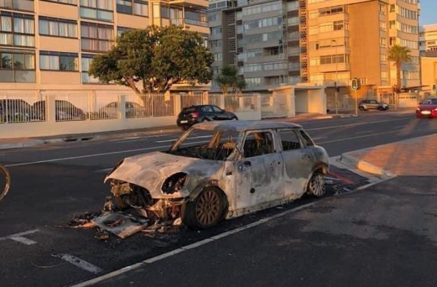 Man who fed homeless speaks out as cops hunt pair who torched his car