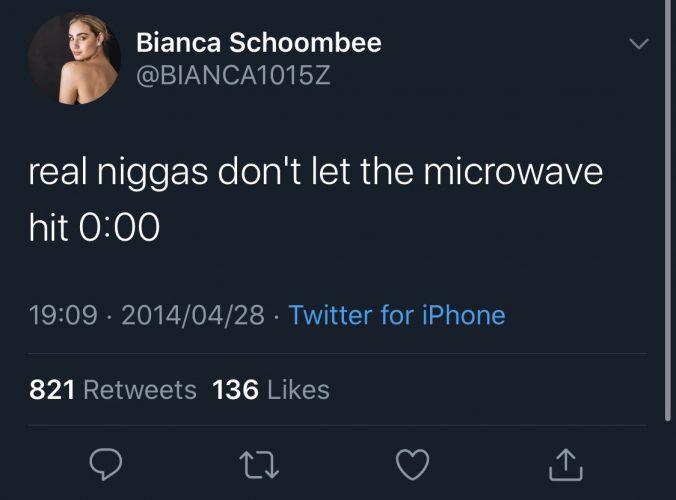Bianca Schoombee tweets