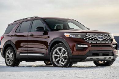 New Ford Everest rendered as mini-Explorer