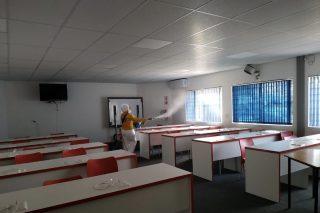 Gauteng schools get a deep clean ahead of reopening