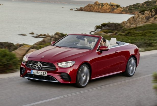 Mercedes-Benz pulls the covers off of the updated E-Class Coupe and Cabriolet