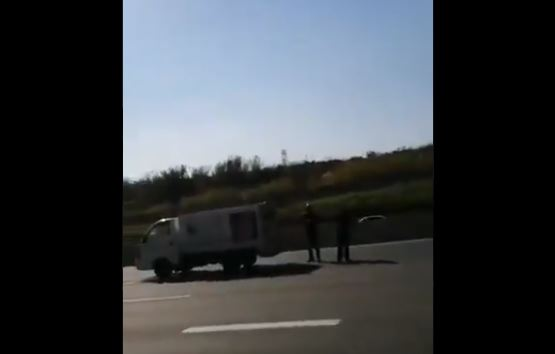 WATCH: Seconds before horrific accident caught on camera