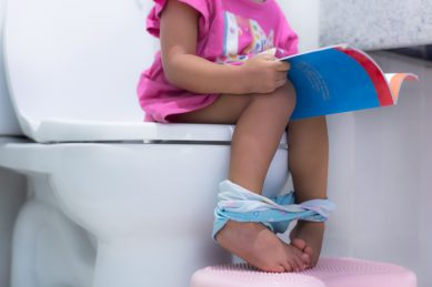 Mother of seven offers potty training tips