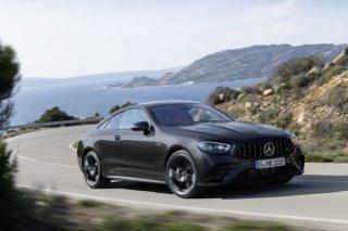 Bent-eight burble will remain quiet for two-door Mercedes-Benz E-Class models - The Citizen