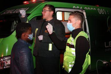 Mpumalanga residents evacuated after truck collision leaks ammonia
