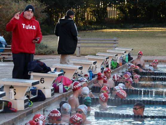 Tuks coach calls for swimmers to be cleared for training