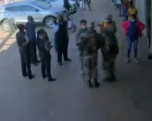 WATCH: SANDF member slaps shop owner, case opened