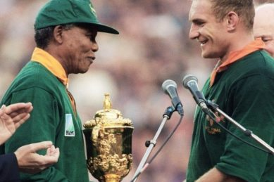 How Mandela inspired Pienaar and Springboks to conquer the world