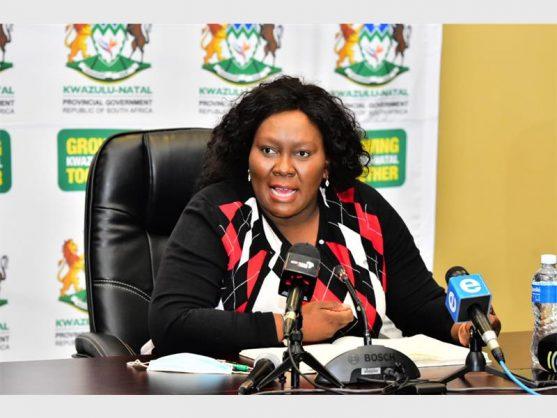 Sibongiseni Dhlomo apologises to KZN health MEC after harsh exchange