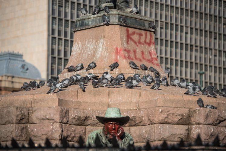 Paul Kruger Statue eff da