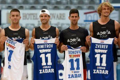 Djokovic tests positive for coronavirus, apologises to other players