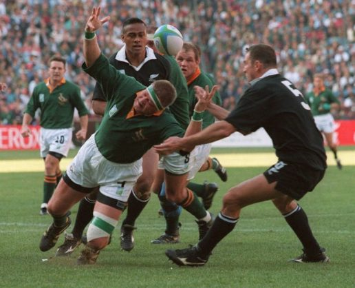 Mysterious 'Suzie' and other 1995 Rugby World Cup headline makers