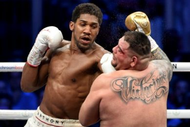 Joshua agrees 'in principle' to two-fight deal with Fury