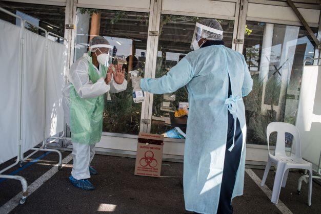 Gauteng buckles under infections