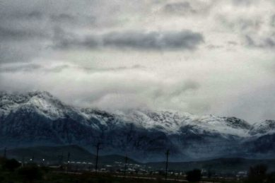 Cold weather arrives in Gauteng as the Western Cape is battered by snow and rain
