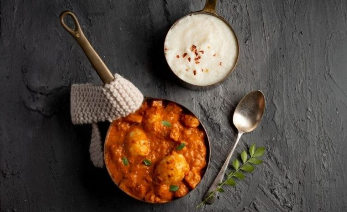 Recipe: Kerala curried egg with pap