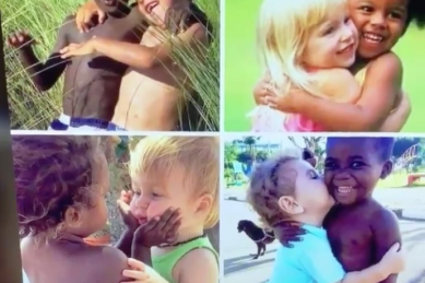 WATCH: Dad's teachable moment video illustrates why racism is learnt