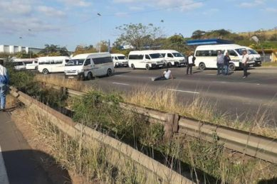 WATCH: Taxis on collision course with the law