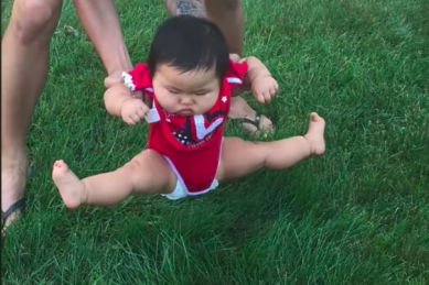 WATCH: These kids' refusal to step on the grass will make your day