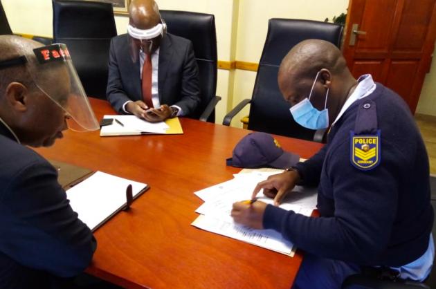 Herman Mashaba opens case over public protector report leak