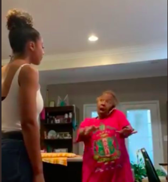 WATCH: Mom can't contain her joy as her daughter gets scholarship to law school