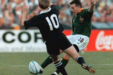 World Cup hero Stransky turns back the clock