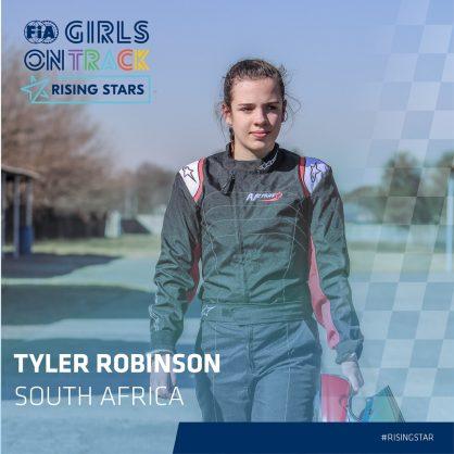 South Africa's Tyler Robinson latest member of Ferrari Driver Academy