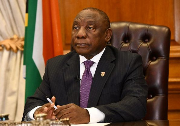 Ramaphosa warns about booze and GBV, while reopening restaurants and hairdressers