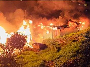 Creche burns down as cops, Hout Bay residents clash