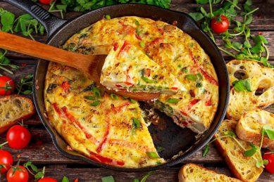 Breakfast sorted: Hello Frittata