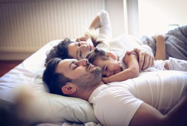 Here's how you can evict your co-sleeping toddler from your bed