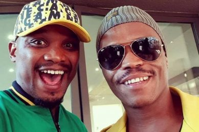 WATCH: Somizi's bestie, TT Mbha, reveals he has the coronavirus