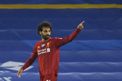 Salah keeps Liverpool record chase on track